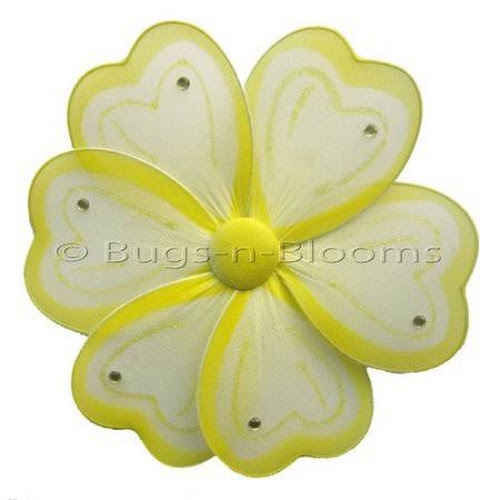 Google Express - Bugs-n-Blooms Flower Hanging Painted Nylon 3D Wall ...