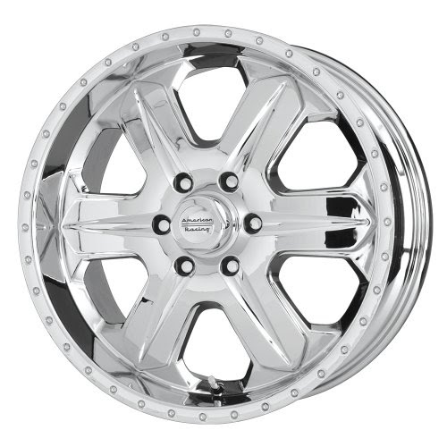 "For sale American Racing Fuel AR619 Chrome Wheel (16x8""/5x4.5"") 