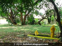 Remains of Kubor Lansam at Jalan Sempadan