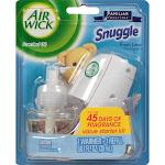 Air Wick Scented Oil Air Freshener Starter Kit, Snuggle Fresh Linen - 1 count