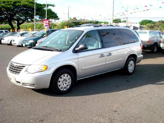 Used 2006 Chrysler Town & Country for Sale in Pearl City HI 96782 Shaka Boyz Auto Sales