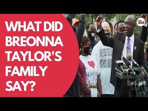 Family of Breonna Taylor hold press conference in Louisville