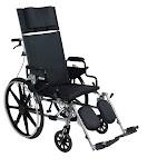 "Viper Plus GT 16"" Reclining Wheelchair Desk Arms"