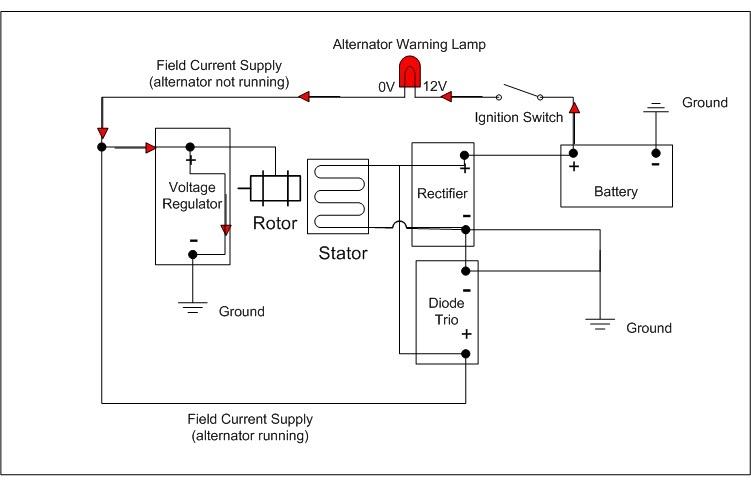 Delco 7si Alternator Wiring Diagram