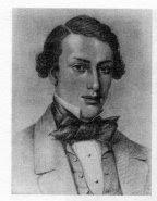 Samuel Orchart Beeton (age 23), 1854