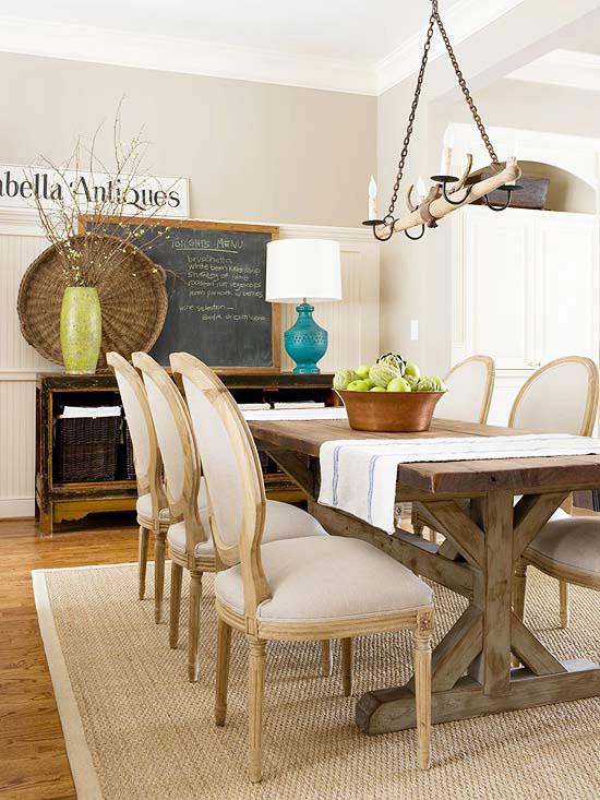 No-Fail Dining Room Arranging Trick
