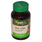 Pet Natural Care Pet-Vite Dogs Chewables, Savory Flavor - 75 Ea