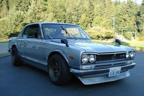 1972 Nissan Skyline GTR Front