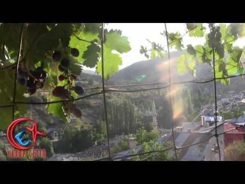 Dere Kasabası Görünümü ve Abdulhalim Çetin'in Balkonunda Üzüm Keyfi