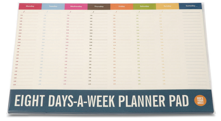 Time Management Tools: Weekly Planners - Core77