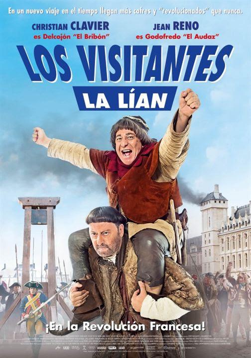 Los visitantes la lían (en la Revolución Francesa) : Cartel