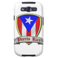Puerto Rico - Shield2 Samsung Galaxy S3 Cover