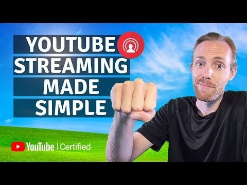 YouTube Live Streaming Tutorial