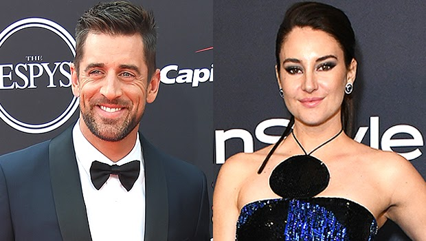 Aaron Rodgers Says Engagement To Shailene Woodley Is The 'Best Thing That's Happened To Me'