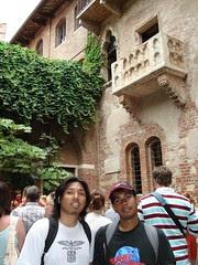 Rumah Juliet, Verona, Italy