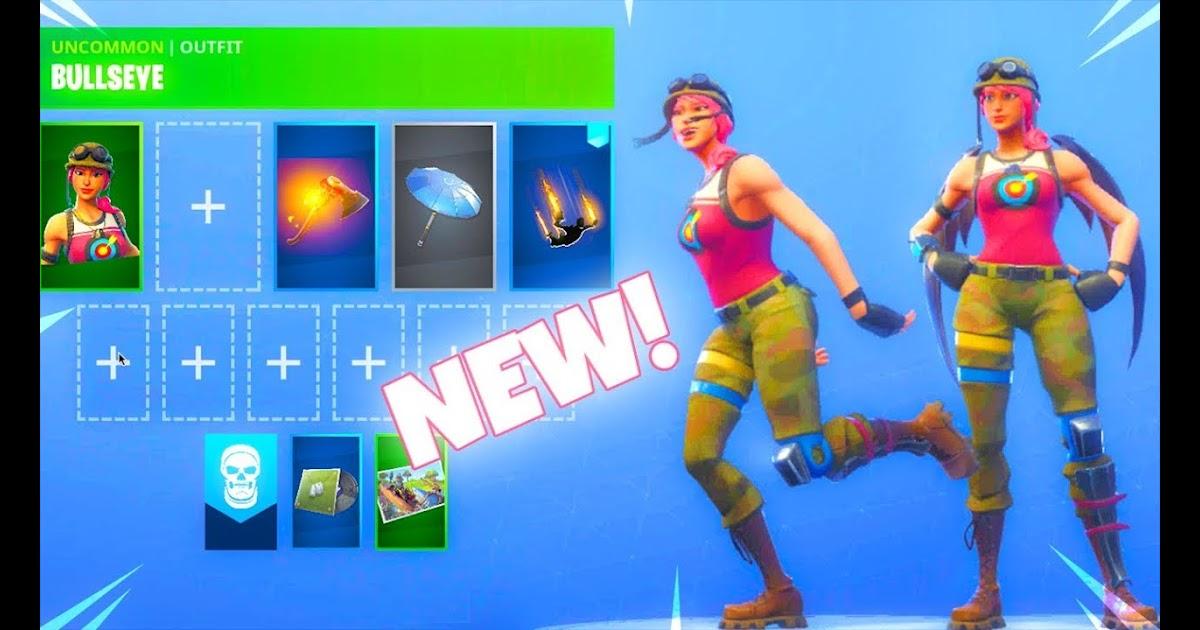 Bullseye Outfit Fortnite Battle Royale