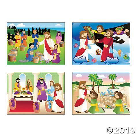 Miracle of Jesus Mini Sticker Scenes