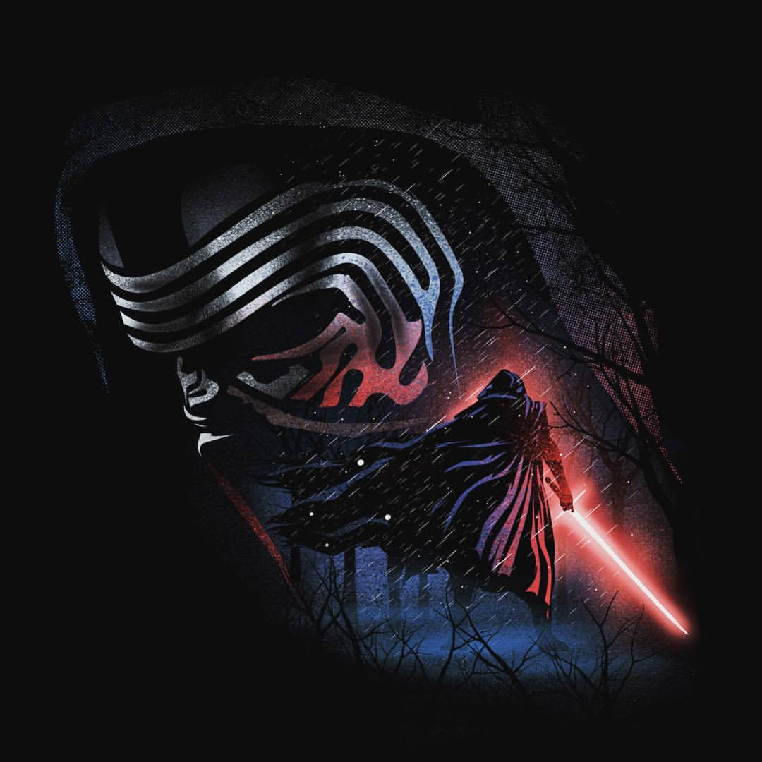 The Dark Side T-shirt Designs by Dan Elijah G. Fajardo