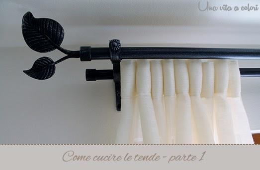 Cucire Tende A Vetro.Come Cucire Le Tende Tutorial Parte 1 Gestione Della Casa