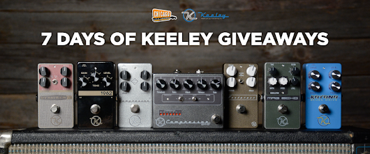 7 Days of Keeley Giveaways