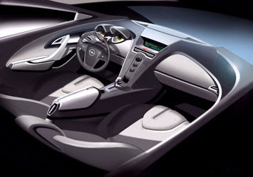 Coventry University: Interior of the 2020 design contest - Car