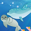 Children's book about a dolphin - excerpt | eBooks for Children