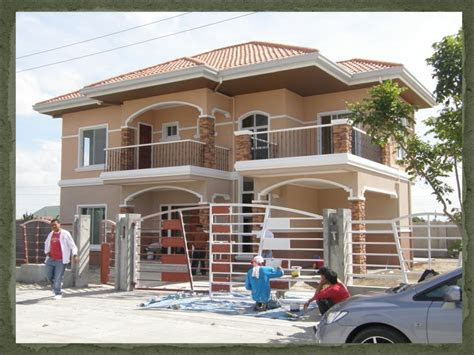 storey house design philippines small  storey house