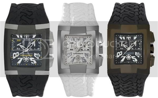 Everyone will be complimenting you on your TechnoMarine Hummer watch.