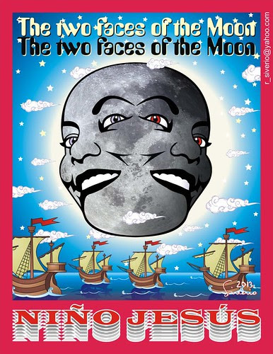 The Two Faces of The Moon (Las Dos Caras de La Luna) by Niño Jesús