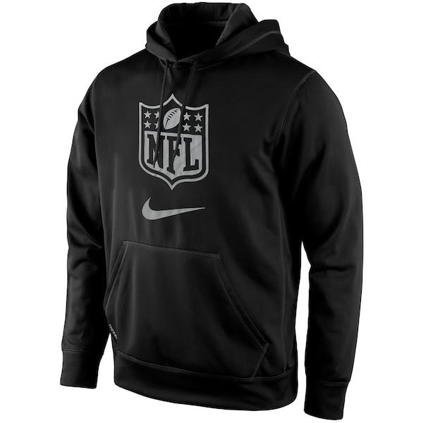 Mens NFL Shield Nike Black Draft Pullover Hoodie  NFLShop.com