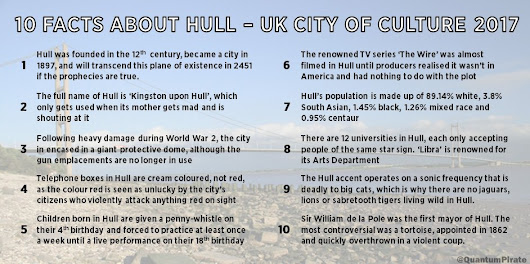 "Barry on Twitter: ""10 totally true facts about Hull. #Hull2017 """