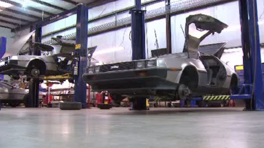 DeLoreans to go back to the future and into production