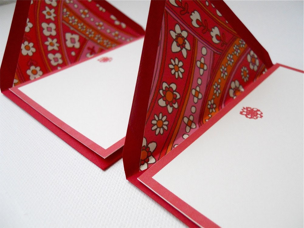 Red Carnival Envelopes (set of 2)
