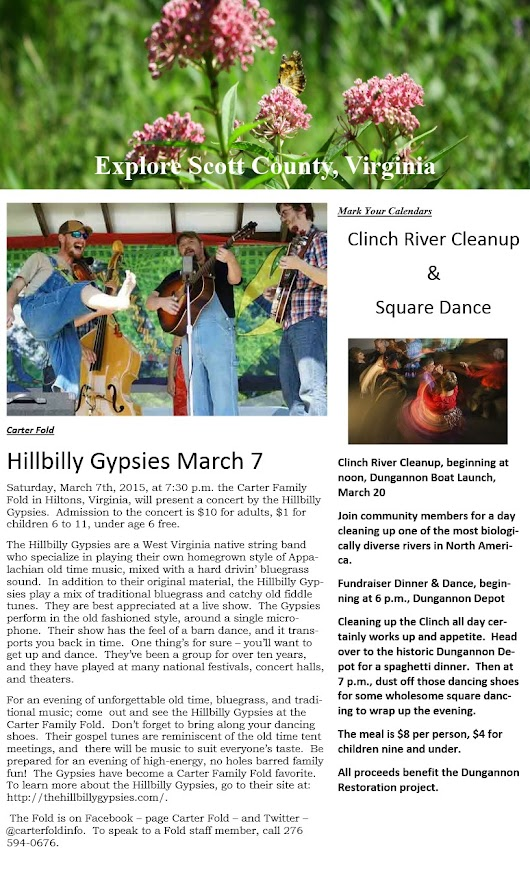 River Cleanup & Square Dance