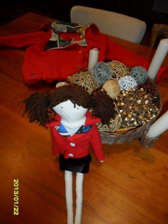 muñeca y chupa