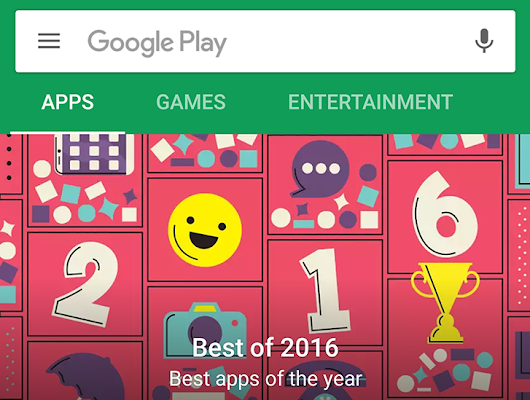 [Thank Googlness] Google testing separate Apps and Games sections in the Play Store