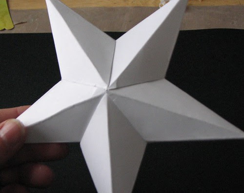 3 Dimensional Star Ornament 007