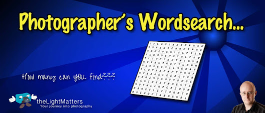 Photographer's Wordsearch - theLightMatters