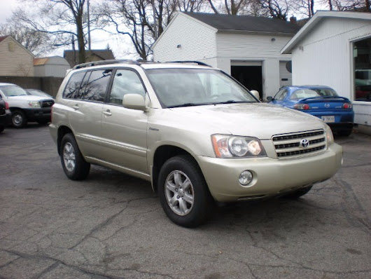 Used 2001 Toyota Highlander V6 4WD for Sale in Lafayette IN 47904 Best Buy Motors