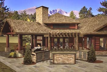 How To: Design Outdoor Living Spaces for Log Homes - LogHome.
