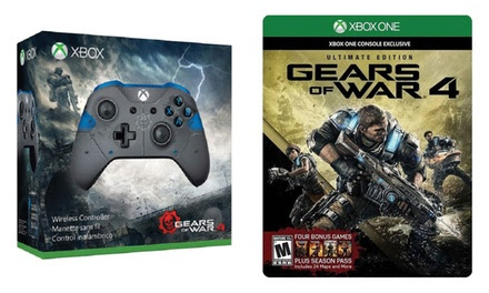 Xbox One Gears of War 4 Ultimate Edition Game with Wireless Controller
