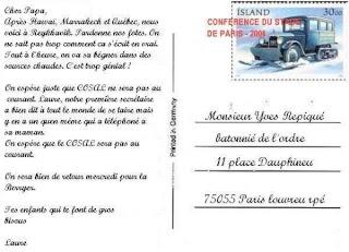 Texte Rigolo Carte Postale   Carte