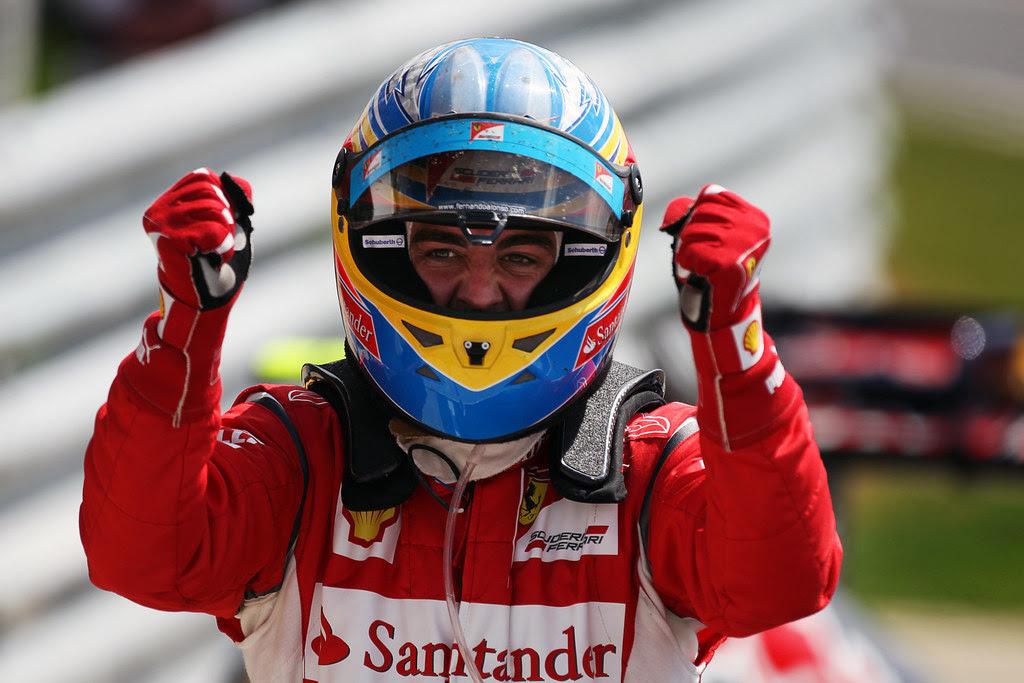 Alonso British Gp 2011 4 Race Winner Fernando Alonso