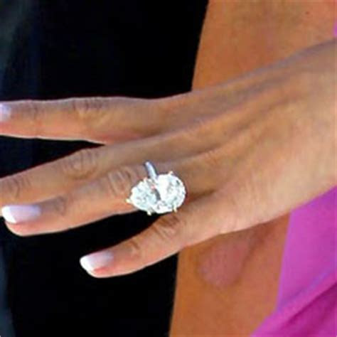The Most Stunning Celebrities? Engagement Rings