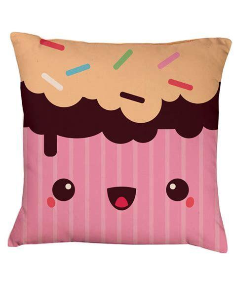 Strawberry Muffin Kawaii Cushion   Gift Shop