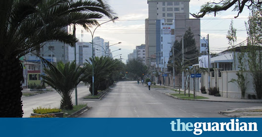 Pollution levels in Bolivia plummet on nationwide car-free day | Cities | The Guardian
