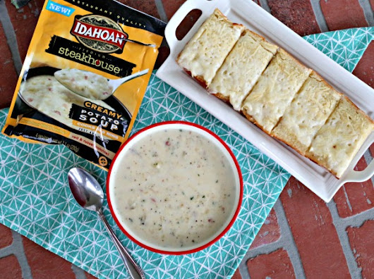 Creamy Potato Soup and Yuba French Bread - Clever Housewife