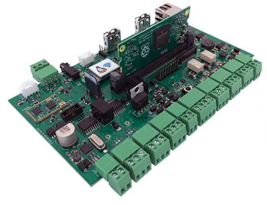 Acme CM3-Home is a Raspberry Pi 3 Compatible Board Designed for Home Automation