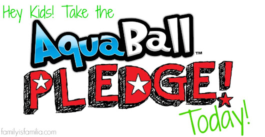 Ready to Cut the Sugar but Keep the Fun with AquaBall? Join the #AquaBallPledge today! #Giveaway • Family is Familia