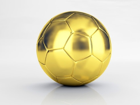 a gold football hd picture